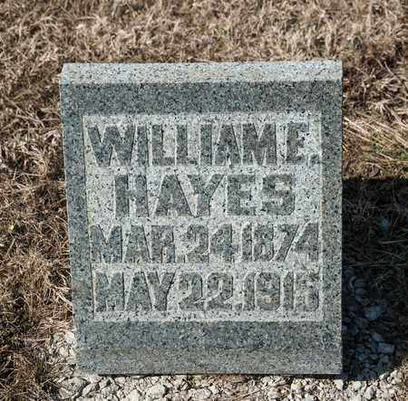 HAYES, WILLIAM E - Richland County, Ohio | WILLIAM E HAYES - Ohio Gravestone Photos