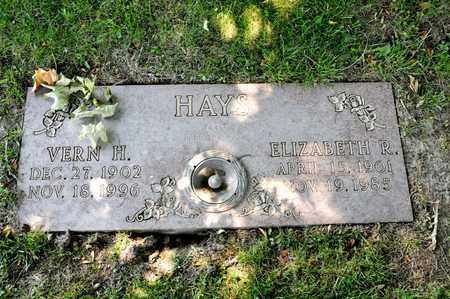 HAYS, VERN H - Richland County, Ohio | VERN H HAYS - Ohio Gravestone Photos