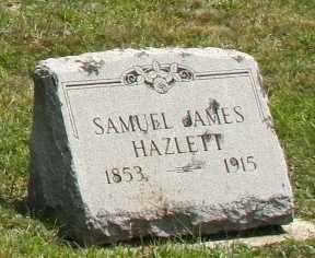 HAZELETT, SAMUEL JAMES - Richland County, Ohio   SAMUEL JAMES HAZELETT - Ohio Gravestone Photos