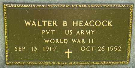 HEACOCK, WALTER B - Richland County, Ohio   WALTER B HEACOCK - Ohio Gravestone Photos