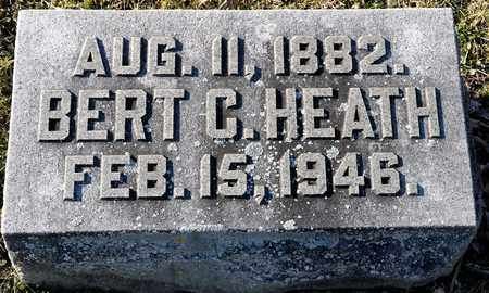 HEATH, BERT C - Richland County, Ohio | BERT C HEATH - Ohio Gravestone Photos