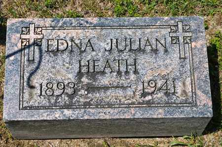 HEATH, EDNA JULIAN - Richland County, Ohio | EDNA JULIAN HEATH - Ohio Gravestone Photos