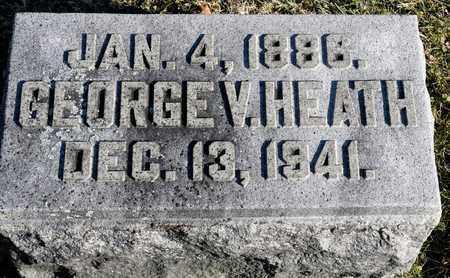 HEATH, GEORGE V - Richland County, Ohio | GEORGE V HEATH - Ohio Gravestone Photos