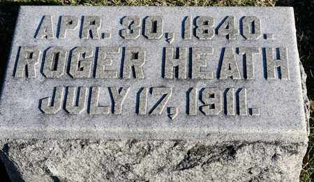HEATH, ROGER - Richland County, Ohio | ROGER HEATH - Ohio Gravestone Photos