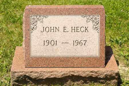 HECK, JOHN E - Richland County, Ohio   JOHN E HECK - Ohio Gravestone Photos