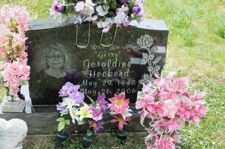 HECKERD, GERALDINE - Richland County, Ohio | GERALDINE HECKERD - Ohio Gravestone Photos