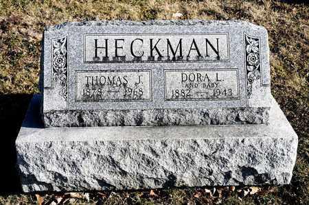 HECKMAN, DORA L - Richland County, Ohio | DORA L HECKMAN - Ohio Gravestone Photos