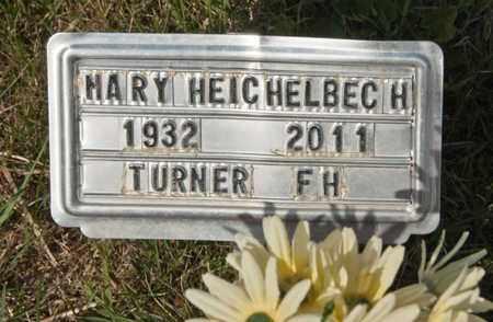 HEICHELBECH, MARY - Richland County, Ohio | MARY HEICHELBECH - Ohio Gravestone Photos