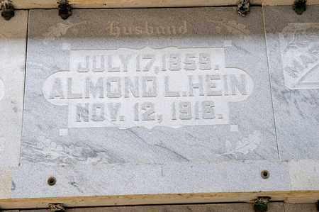 HEIN, ALMOND L - Richland County, Ohio | ALMOND L HEIN - Ohio Gravestone Photos