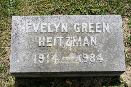 HEITZMAN, EVELYN - Richland County, Ohio | EVELYN HEITZMAN - Ohio Gravestone Photos