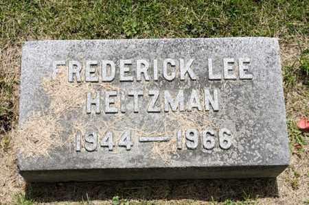 HEITZMAN, FREDERICK LEE - Richland County, Ohio | FREDERICK LEE HEITZMAN - Ohio Gravestone Photos