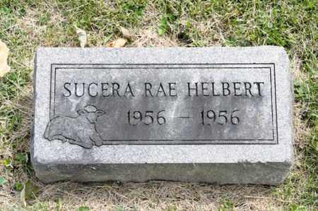 HELBERT, SUCERA RAE - Richland County, Ohio   SUCERA RAE HELBERT - Ohio Gravestone Photos