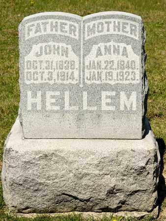HELLEM, ANNA - Richland County, Ohio | ANNA HELLEM - Ohio Gravestone Photos