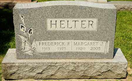 HELTER, FREDERICK F - Richland County, Ohio | FREDERICK F HELTER - Ohio Gravestone Photos