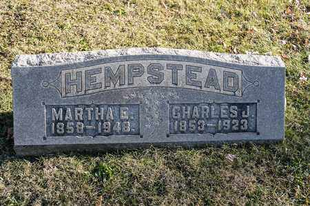 HEMPSTEAD, MARTHA E - Richland County, Ohio | MARTHA E HEMPSTEAD - Ohio Gravestone Photos