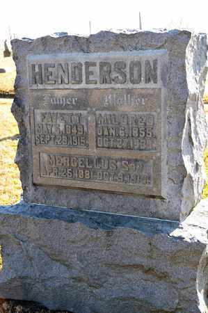 HENDERSON, MERCELLUS - Richland County, Ohio | MERCELLUS HENDERSON - Ohio Gravestone Photos