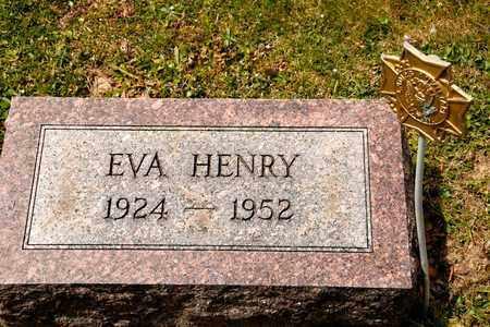 HENRY, EVA - Richland County, Ohio | EVA HENRY - Ohio Gravestone Photos