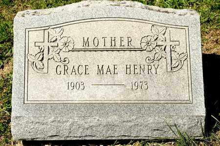 HENRY, GRACE MAE - Richland County, Ohio | GRACE MAE HENRY - Ohio Gravestone Photos