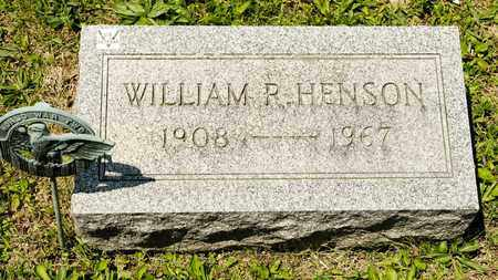 HENSON, WILLIAM R - Richland County, Ohio | WILLIAM R HENSON - Ohio Gravestone Photos