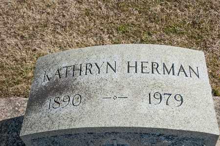 HERMAN, KATHRYN - Richland County, Ohio | KATHRYN HERMAN - Ohio Gravestone Photos
