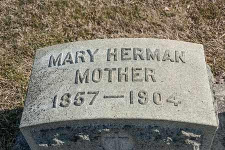 HERMAN, MARY - Richland County, Ohio | MARY HERMAN - Ohio Gravestone Photos