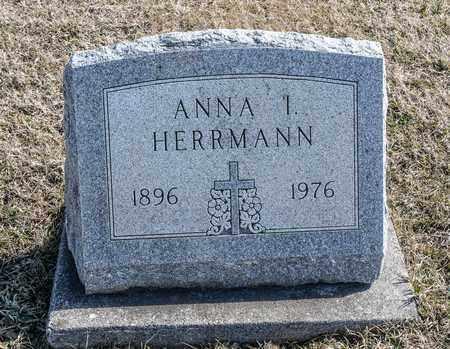 HERRMANN, ANNA I - Richland County, Ohio | ANNA I HERRMANN - Ohio Gravestone Photos