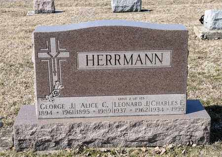 HERRMANN, LEONARD J - Richland County, Ohio | LEONARD J HERRMANN - Ohio Gravestone Photos
