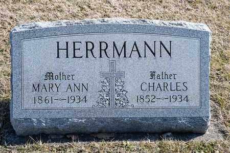 HERRMANN, MARY ANN - Richland County, Ohio | MARY ANN HERRMANN - Ohio Gravestone Photos