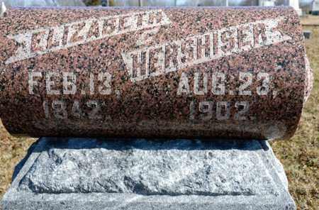 HERSHISER, ELIZABETH - Richland County, Ohio | ELIZABETH HERSHISER - Ohio Gravestone Photos
