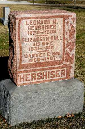 HERSHISER, HARVEY E - Richland County, Ohio | HARVEY E HERSHISER - Ohio Gravestone Photos