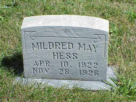 HESS, MILDRED MAY - Richland County, Ohio   MILDRED MAY HESS - Ohio Gravestone Photos