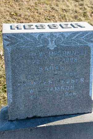 HESSER WILLIAMSON, FRANCES - Richland County, Ohio | FRANCES HESSER WILLIAMSON - Ohio Gravestone Photos