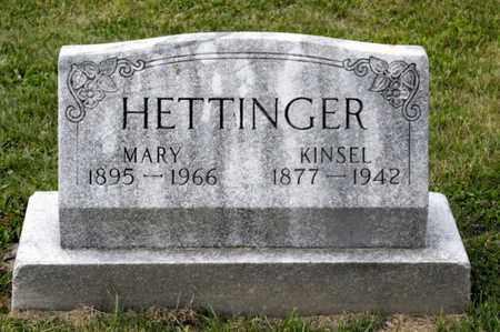 HETTINGER, KINSEL - Richland County, Ohio | KINSEL HETTINGER - Ohio Gravestone Photos