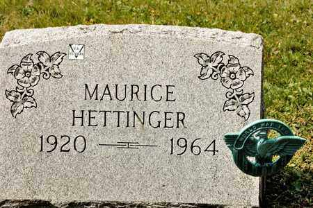 HETTINGER, MAURICE - Richland County, Ohio | MAURICE HETTINGER - Ohio Gravestone Photos
