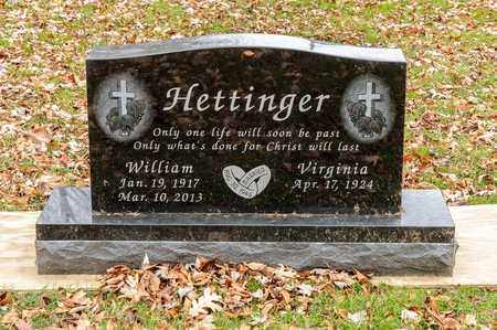 HETTINGER, WILLIAM - Richland County, Ohio | WILLIAM HETTINGER - Ohio Gravestone Photos