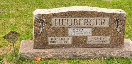 HEUBERGER, CORA L - Richland County, Ohio | CORA L HEUBERGER - Ohio Gravestone Photos
