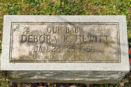 HEWITT, DEBORA K - Richland County, Ohio   DEBORA K HEWITT - Ohio Gravestone Photos