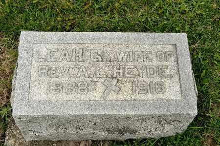 HEYDE, LEAH G - Richland County, Ohio | LEAH G HEYDE - Ohio Gravestone Photos