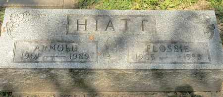 HIATF, FLOSSIE - Richland County, Ohio | FLOSSIE HIATF - Ohio Gravestone Photos