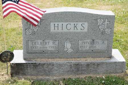 HICKS, DELBERT R - Richland County, Ohio | DELBERT R HICKS - Ohio Gravestone Photos
