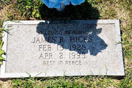 HICKS, JAMES R - Richland County, Ohio | JAMES R HICKS - Ohio Gravestone Photos