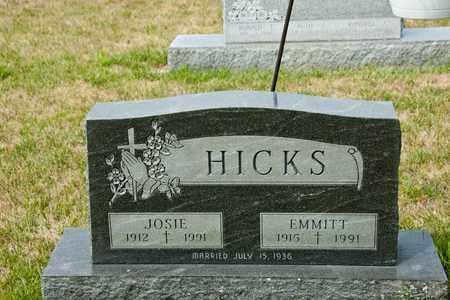 HICKS, EMMITT - Richland County, Ohio | EMMITT HICKS - Ohio Gravestone Photos