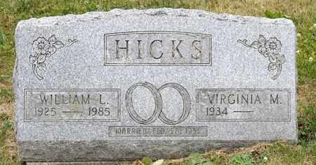 HICKS, WILLIAM L - Richland County, Ohio   WILLIAM L HICKS - Ohio Gravestone Photos
