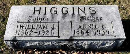 HIGGINS, WILLIAM J - Richland County, Ohio | WILLIAM J HIGGINS - Ohio Gravestone Photos