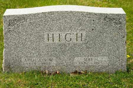 HIGH, MAY L - Richland County, Ohio | MAY L HIGH - Ohio Gravestone Photos