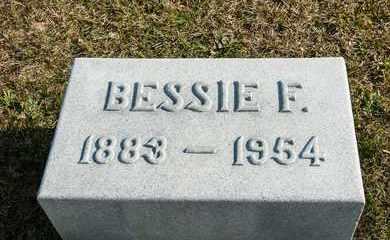 HILDEBRANT, BESSIE F - Richland County, Ohio | BESSIE F HILDEBRANT - Ohio Gravestone Photos