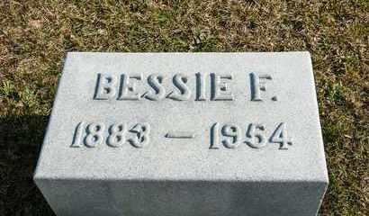 HILDEBRANT, BESSIE F - Richland County, Ohio   BESSIE F HILDEBRANT - Ohio Gravestone Photos