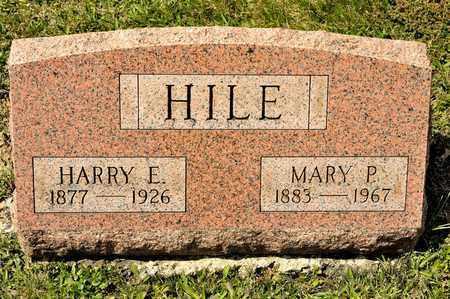 HILE, HARRY E - Richland County, Ohio   HARRY E HILE - Ohio Gravestone Photos