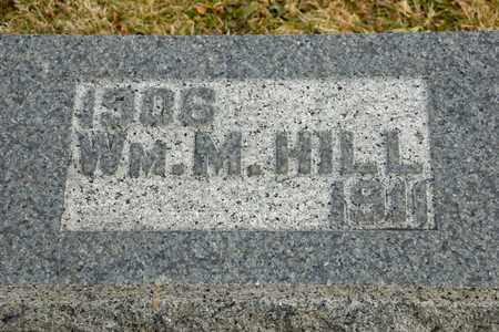 HILL, WILLIAM M - Richland County, Ohio | WILLIAM M HILL - Ohio Gravestone Photos