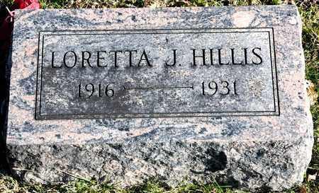 HILLIS, LORETTA J - Richland County, Ohio | LORETTA J HILLIS - Ohio Gravestone Photos